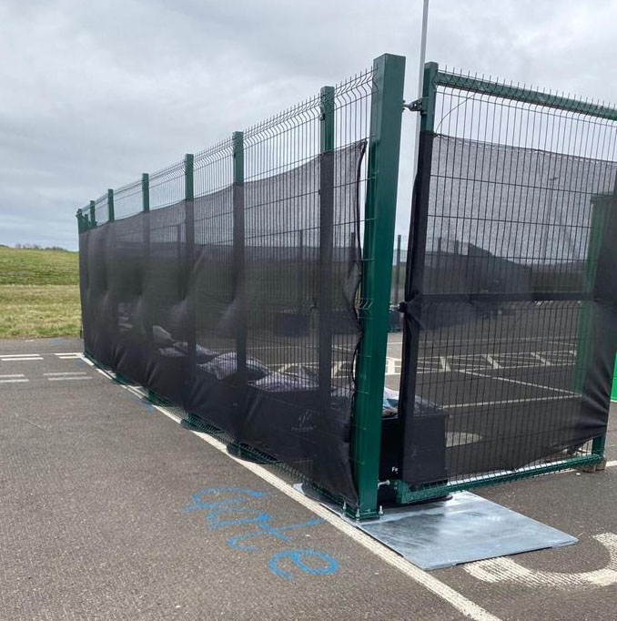 Edinburgh Temporary Fencing