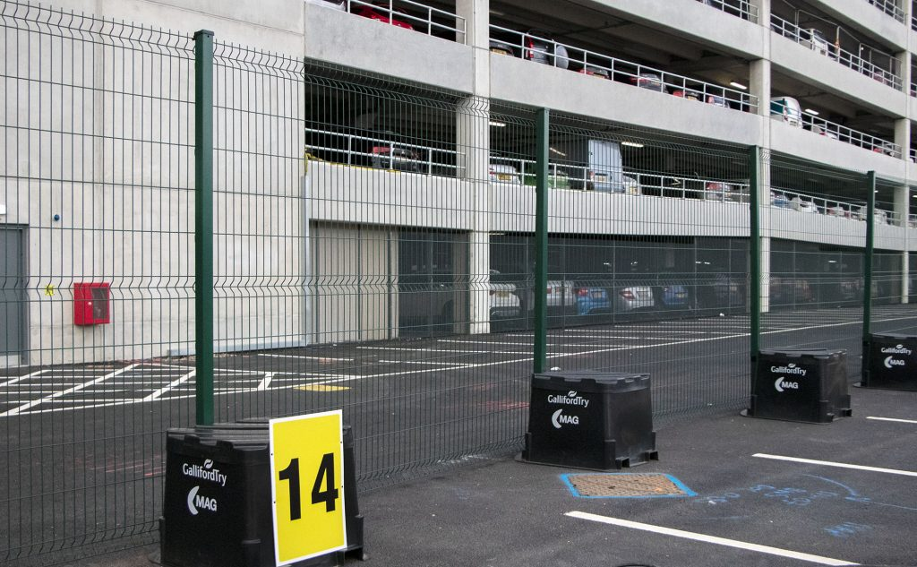 Airport Temporary Fencing