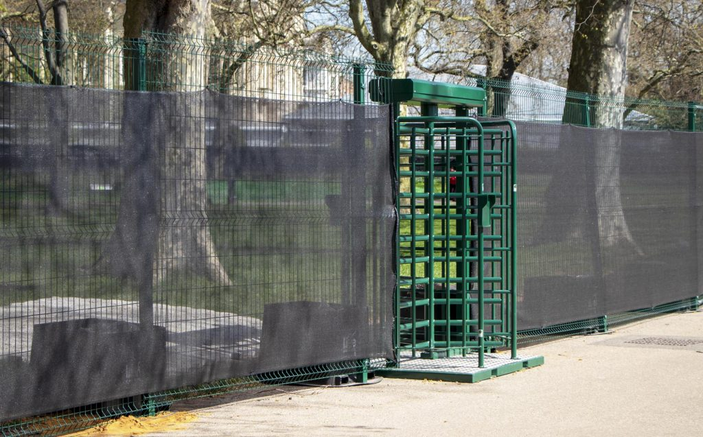 High Security Temporary Fencing