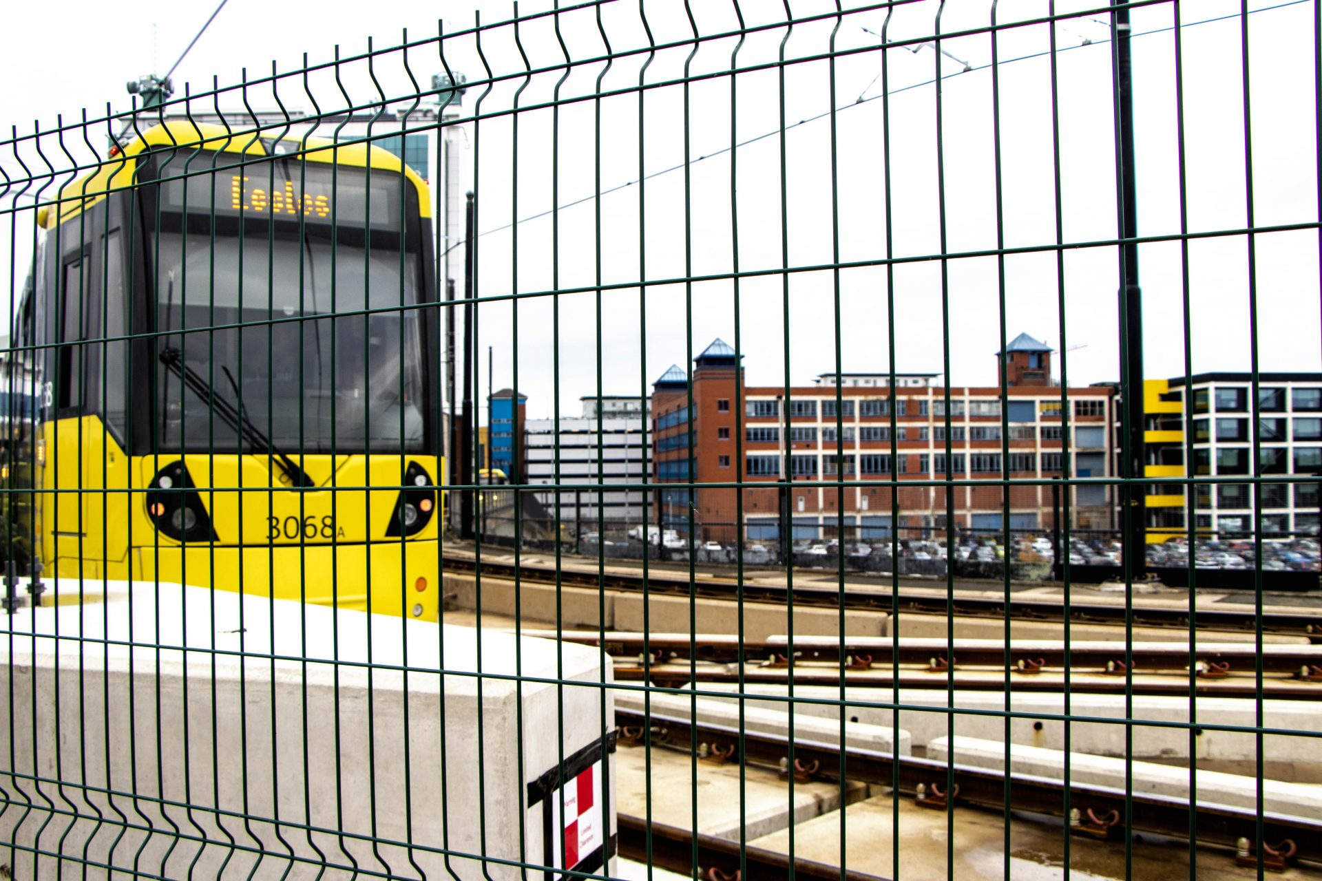 Manchester MetroLink Temporary Fencing