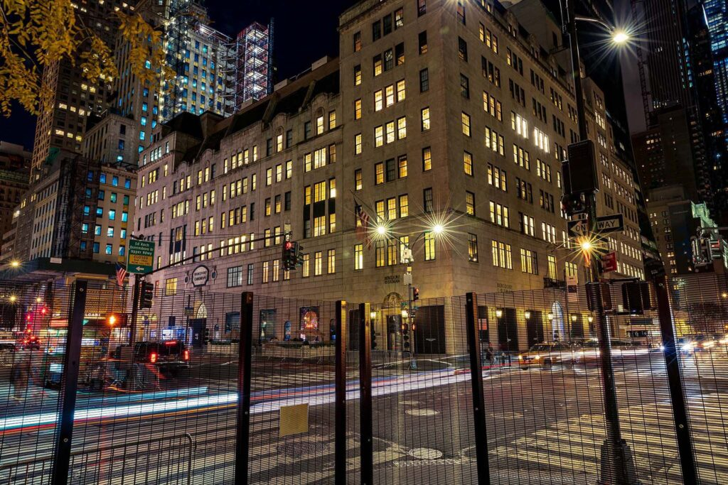 New York City Temporary Security Fencing